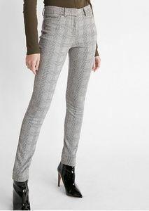 Pants - (NWOT)High Waisted Stirrup Plaid Pant